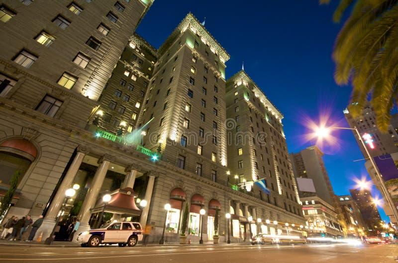 miasta w centrum Francisco życia San kwadratowy zjednoczenie zdjęcia stock