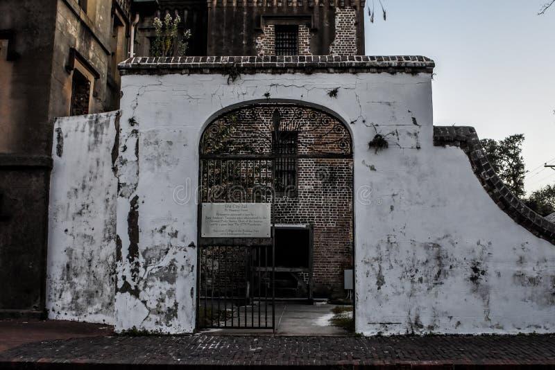 Miasta więzienie, Charleston, SC zdjęcia royalty free