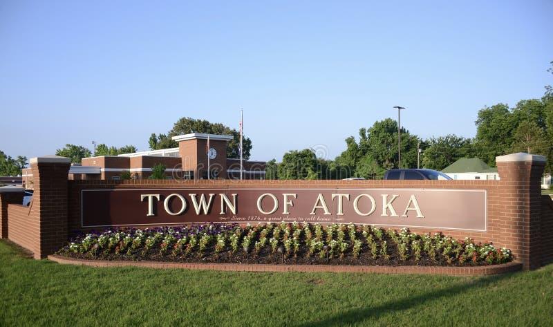 Miasteczko Atoka, Tennessee obraz stock