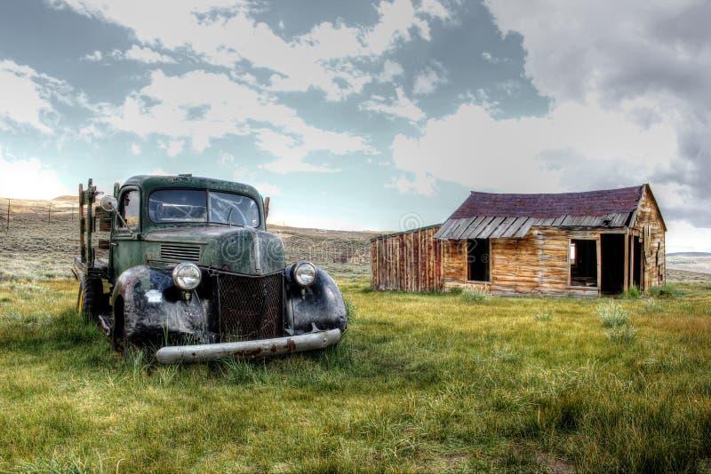 Miasteczko Bodie, Ameryka, Kalifornia fotografia royalty free