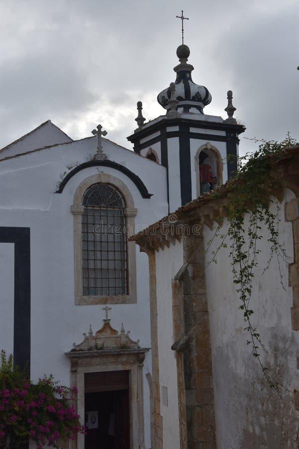 Miasteczko Obidos w Portugalia fotografia stock