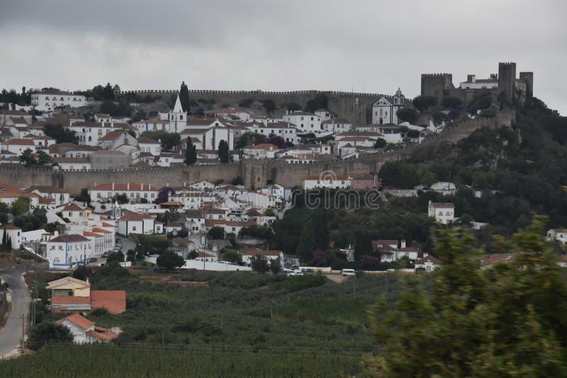 Miasteczko Obidos w Portugalia obraz royalty free