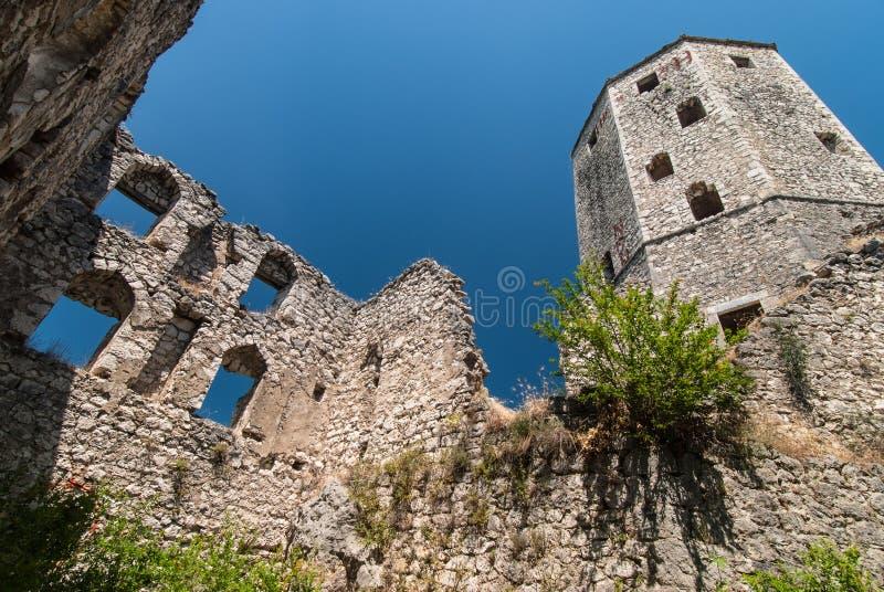 Miasteczko Pocitelj, Bośnia i Herzegovina, zdjęcie royalty free