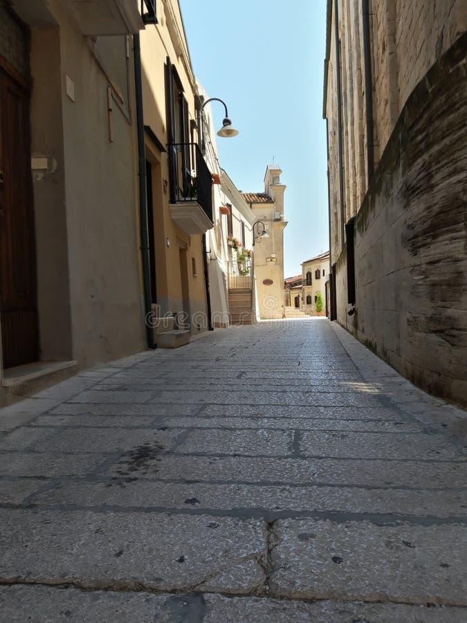 Miasteczko Termoli, w Molise, Włochy zdjęcia royalty free