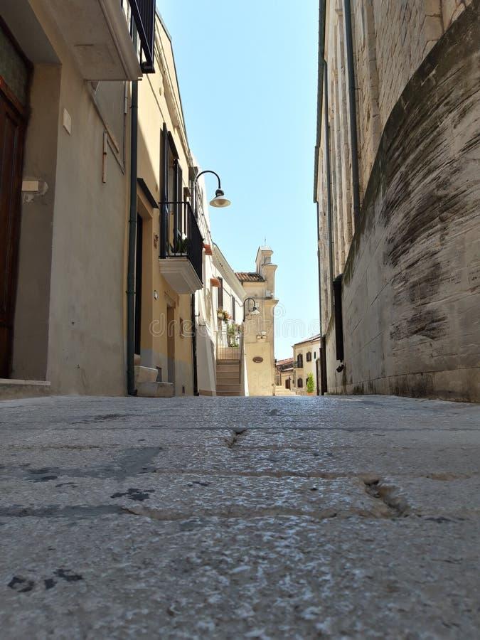 Miasteczko Termoli, w Molise, Włochy obraz stock