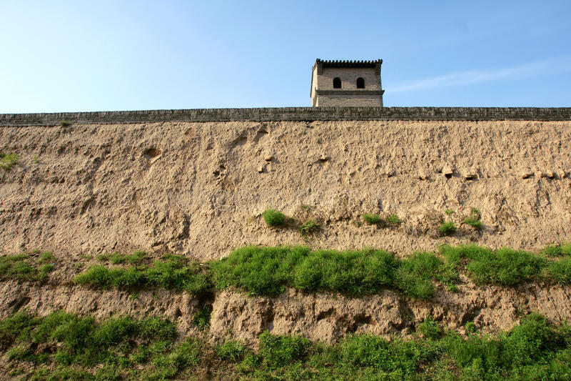 miasto ściana zdjęcia royalty free
