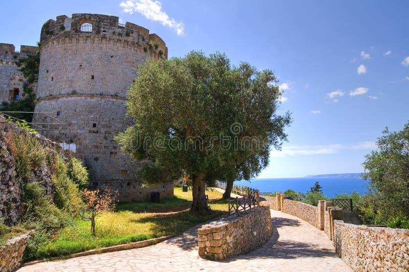 Miasto ściany. Castro. Puglia. Włochy. obraz royalty free