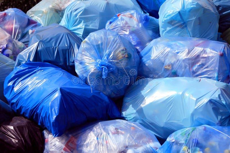 miasto śmieci. obrazy stock