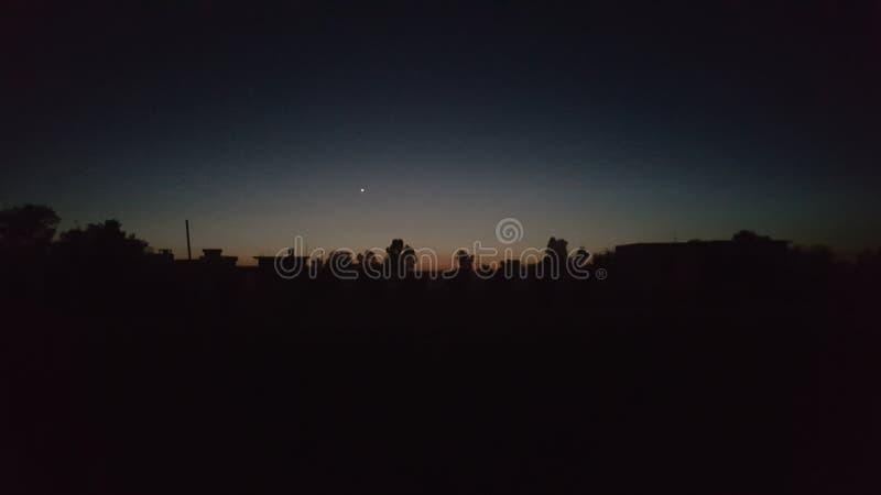 miasto światła na noc zdjęcia royalty free