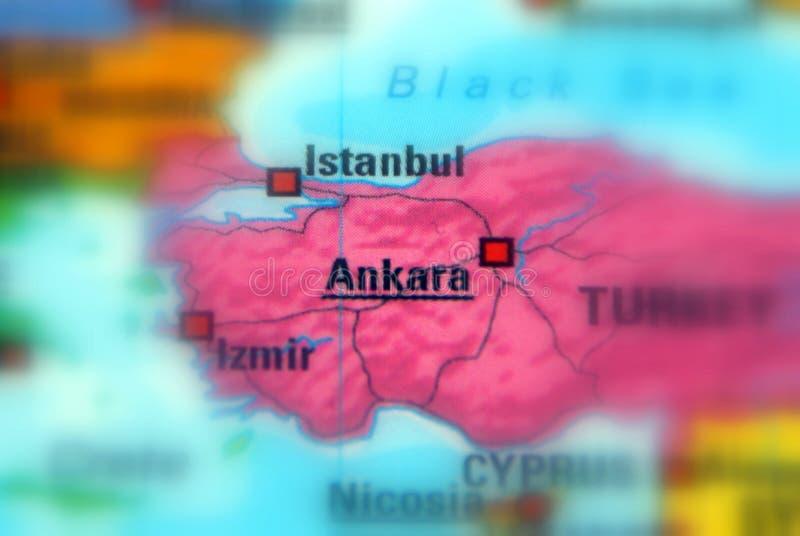 Miasto Ankara, Turcja obraz royalty free