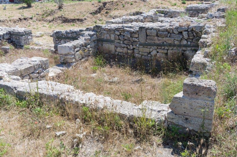 miasto antyczne ruiny zdjęcia royalty free