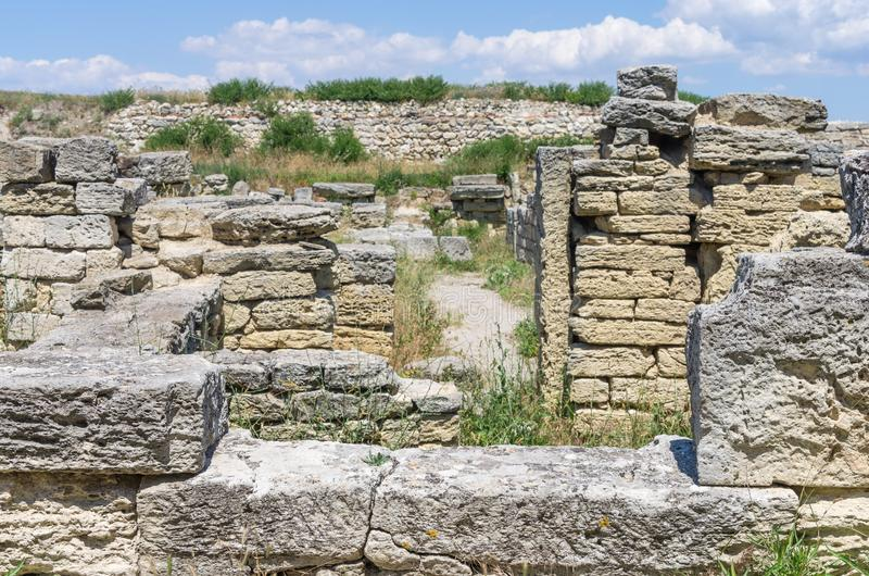 miasto antyczne ruiny obrazy stock
