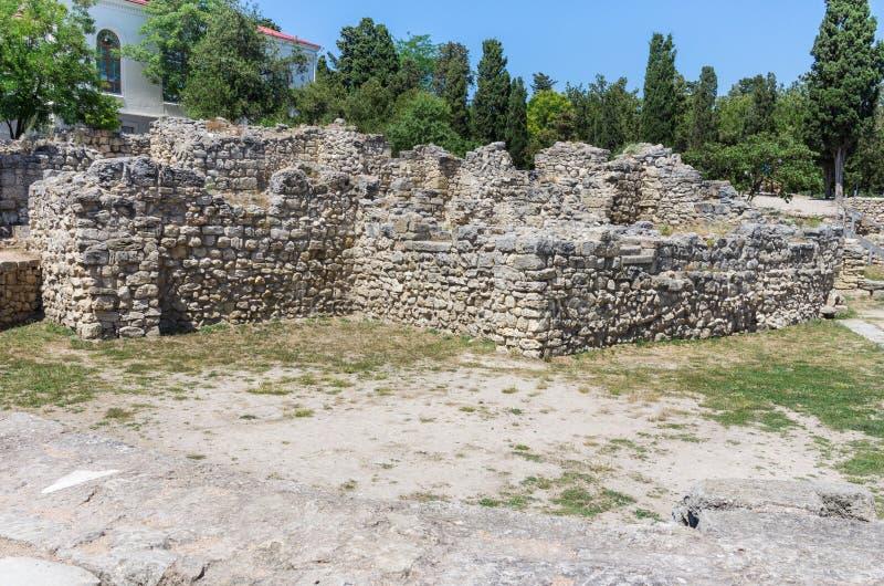 miasto antyczne ruiny zdjęcia stock