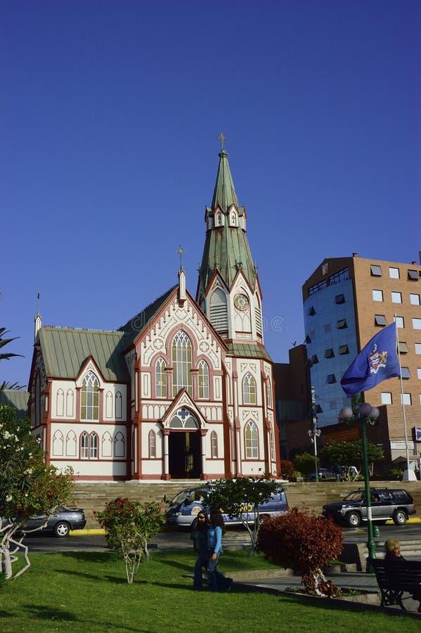 Miasto Arica, Chile obrazy royalty free