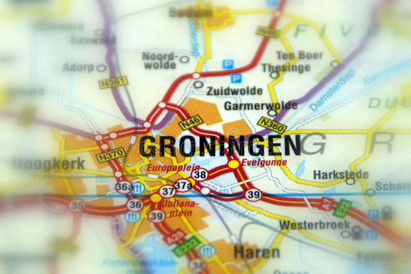 Miasto Assen - holandie obrazy royalty free