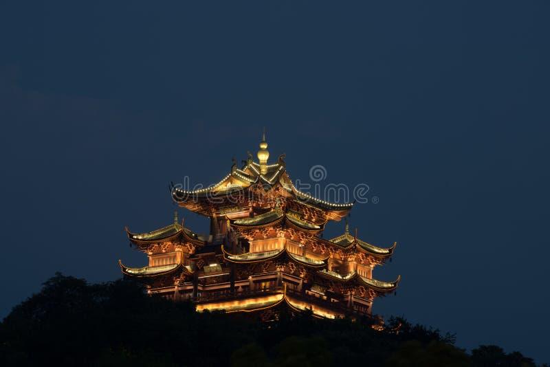 Miasto bóg pawilonu Hangzhou sławny pawilon obrazy royalty free