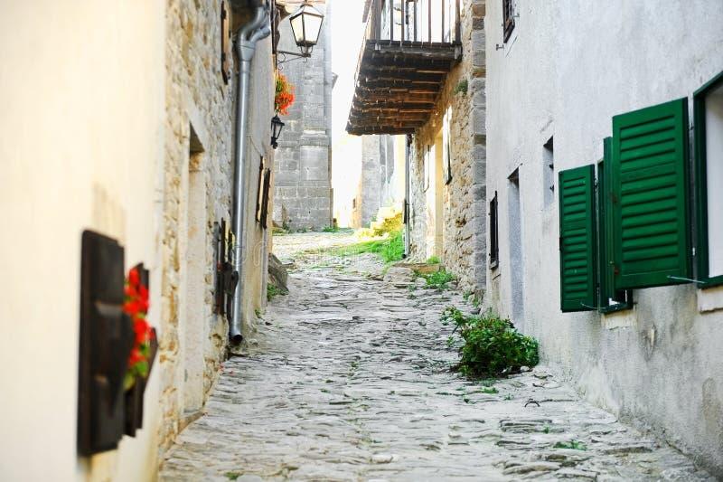 Miasto brzęczenie w Chorwacja obrazy stock