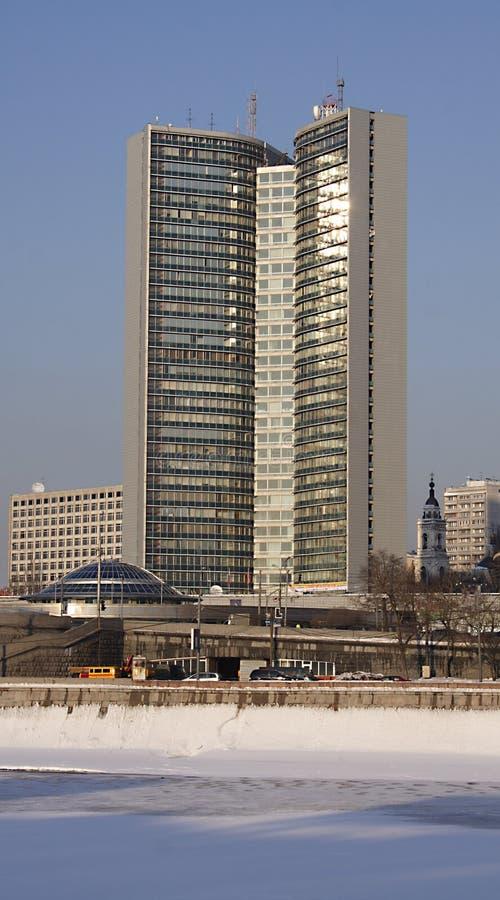 miasto budynek administracji fotografia royalty free