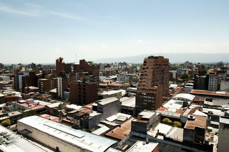 Miasto budynki Tucuman, Argentyna - obrazy royalty free