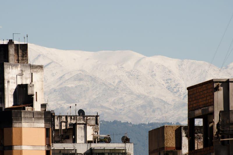 Miasto budynki Tucuman, Argentyna - zdjęcia stock