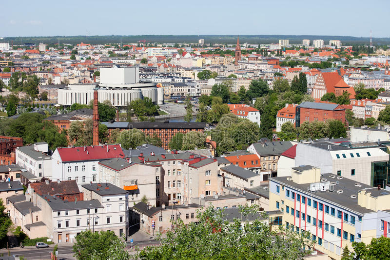 Miasto Bydgoski w Polska zdjęcia royalty free