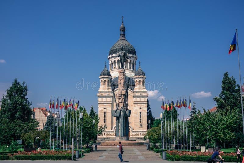Miasto cluj - Europejski podróży miejsce przeznaczenia obraz stock