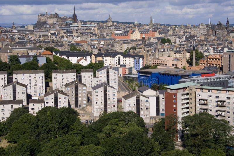 miasto Edinburgh obraz stock