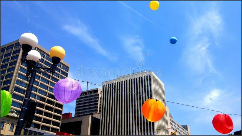 Miasto festiwal zdjęcia stock