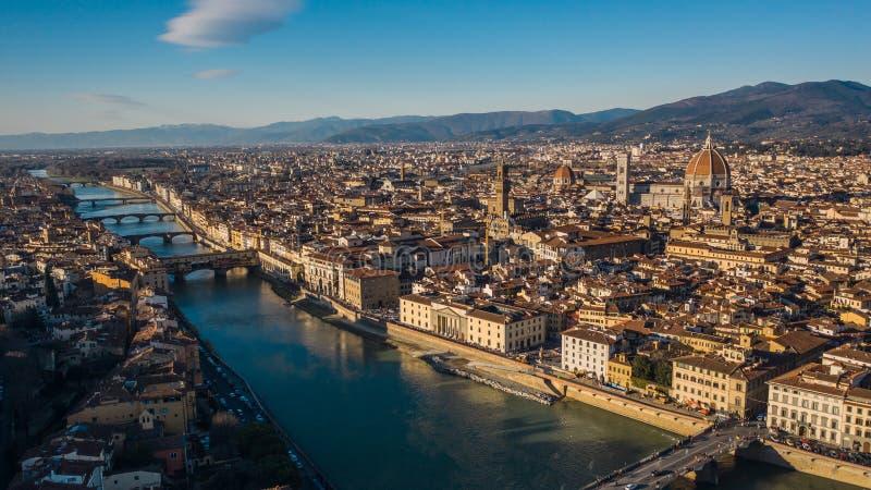 Miasto Florencja fotografia royalty free