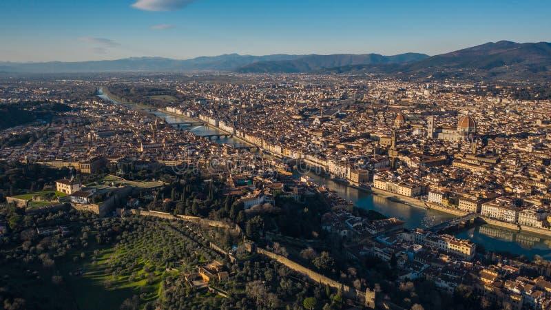 Miasto Florencja obrazy royalty free