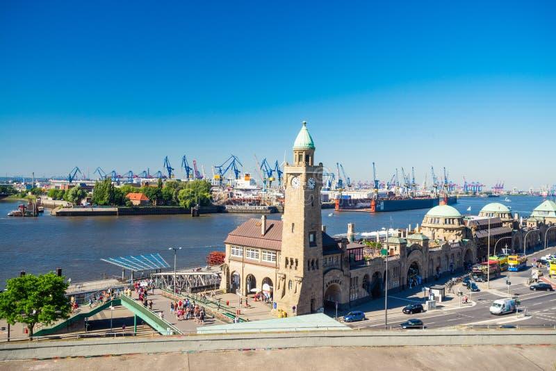 Miasto Hamburg, Niemcy obrazy royalty free