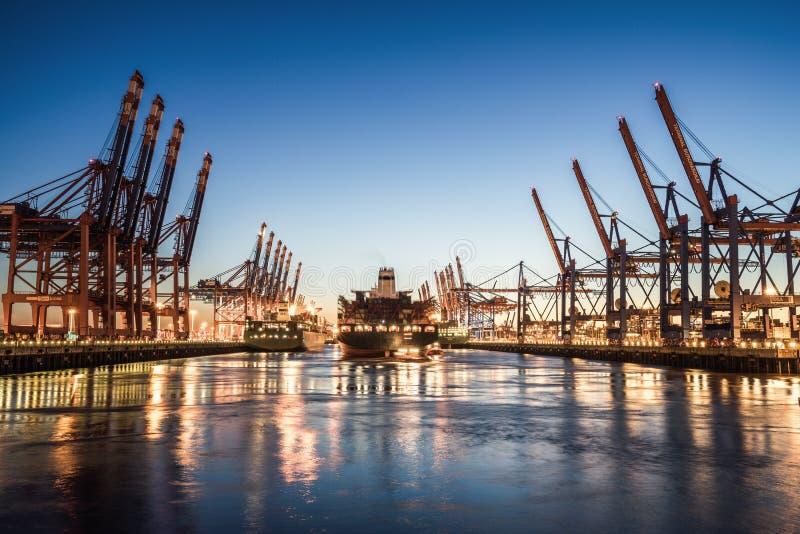 Miasto Hamburg, Niemcy obraz stock