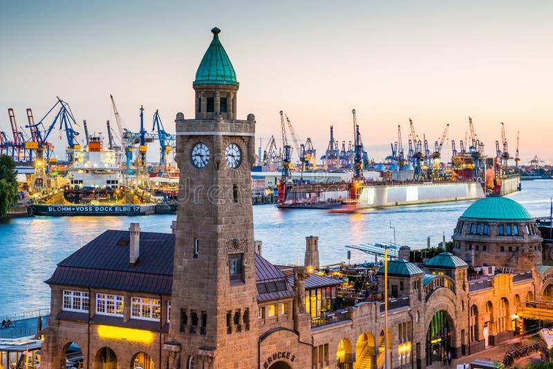 Miasto Hamburg, Niemcy zdjęcie royalty free
