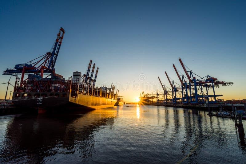Miasto Hamburg, Niemcy zdjęcie stock