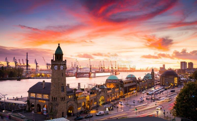 Miasto Hamburg, Niemcy fotografia stock