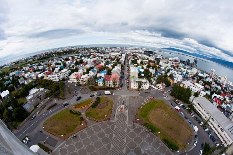 miasto Iceland Reykjavik obraz royalty free