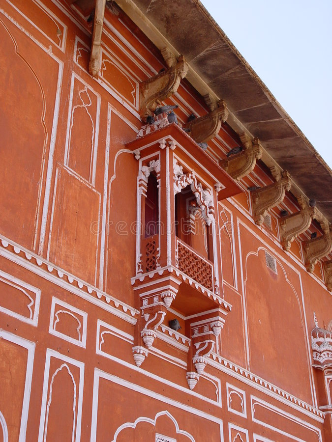 miasto ind Jaipur pałacu obrazy stock