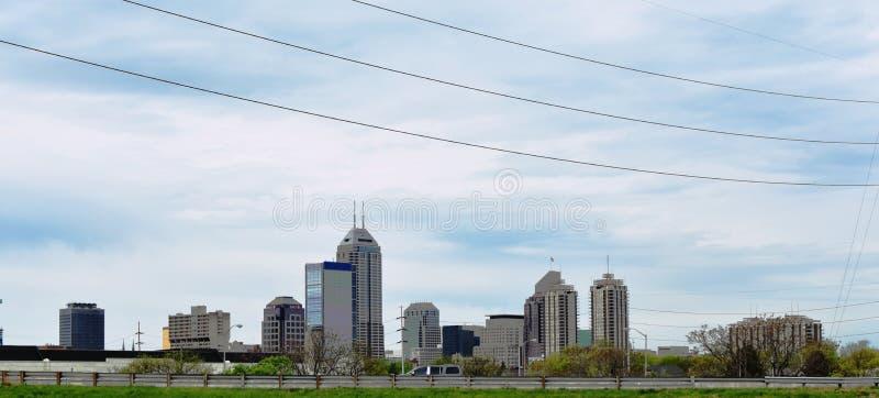 Miasto Indianapolis, Indiana obrazy royalty free