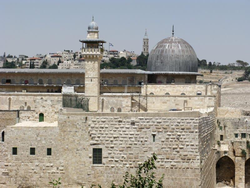 Miasto Jerusalem Stary Obrazy Royalty Free