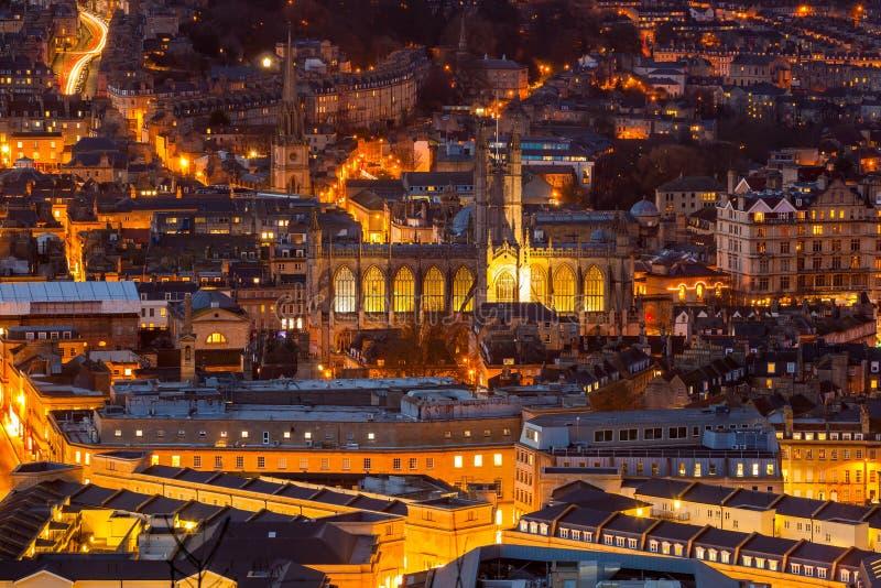 Miasto Kąpielowy Somerset Anglia UK Europa obraz royalty free