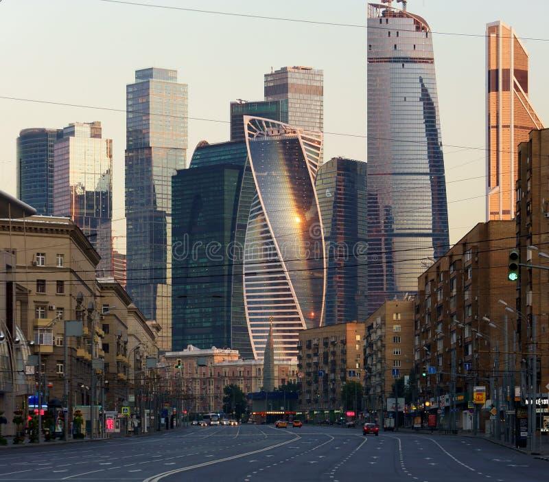 Miasto kontrasty obrazy stock