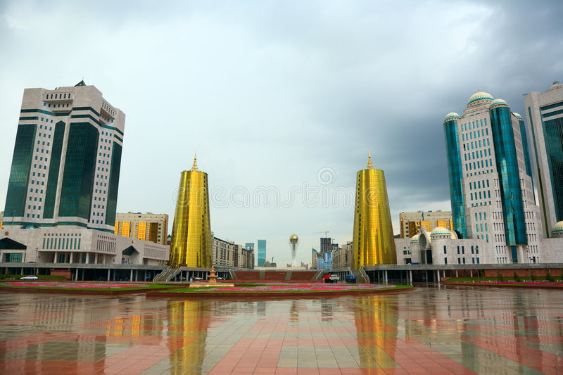 miasto krajobraz obraz royalty free