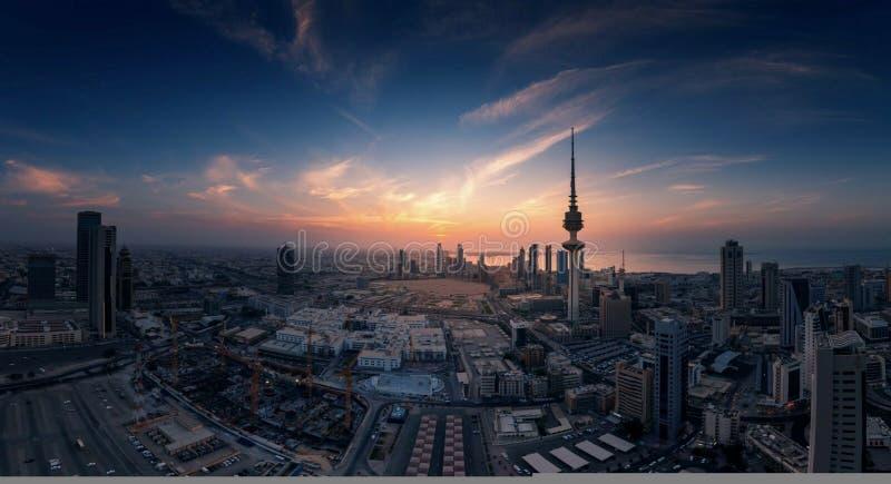 miasto Kuwait obraz stock