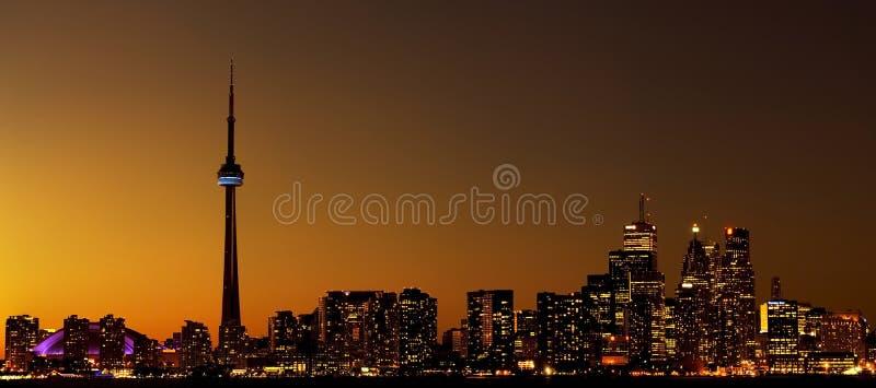 miasto linia horyzontu Toronto fotografia royalty free