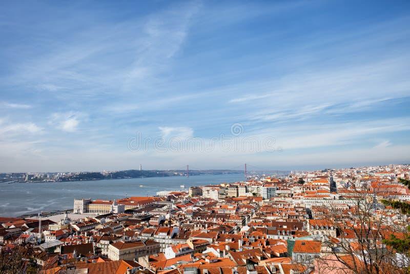 Miasto Lisbon w Portugalia fotografia stock