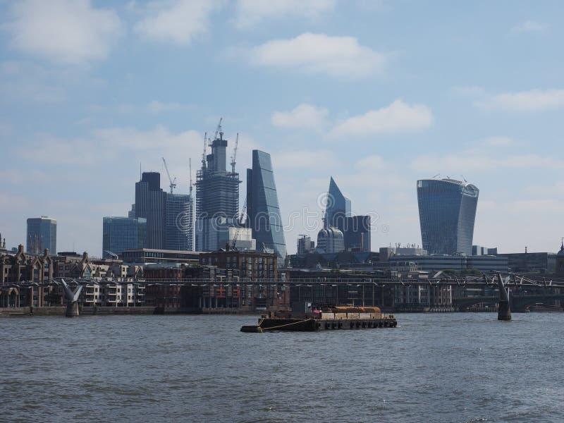 Miasto Londyn w Londyn zdjęcia stock