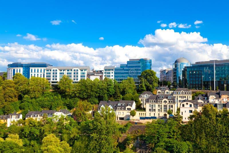 miasto Luxembourg zdjęcie royalty free