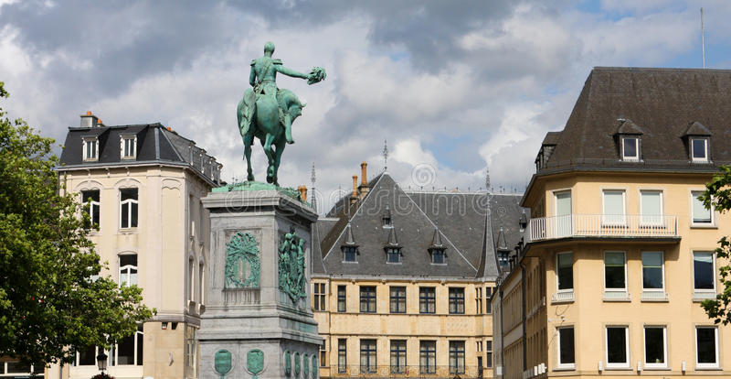 miasto Luxembourg fotografia stock