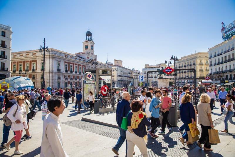 Miasto Madryt zdjęcia stock