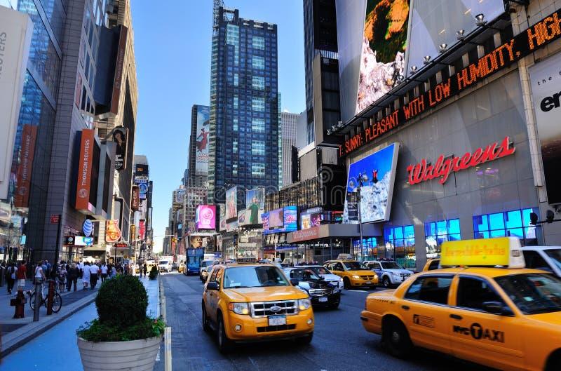 miasto Manhattan nowy uliczny York fotografia stock